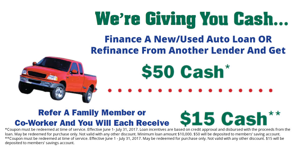 Get a loan and get $50 Cash